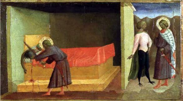 saint-julien tuant ses parents