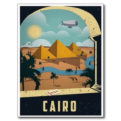 cairo-vintage postal