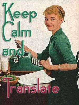keep calm and translate