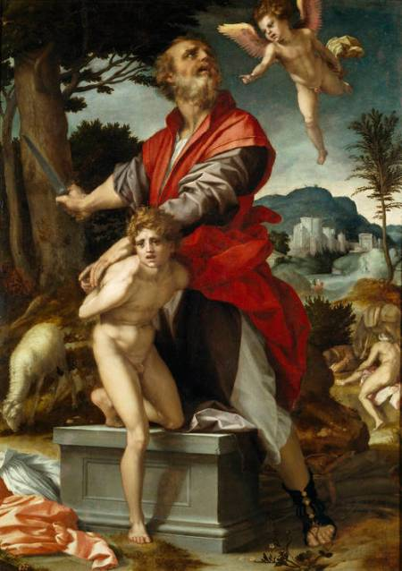 Sacrificio Isaac - AndreadelSarto