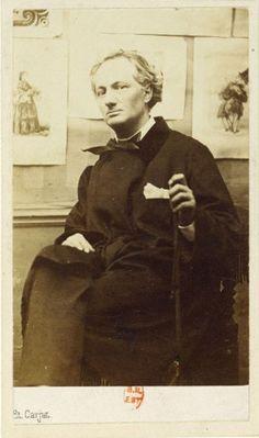 Charles Baudelaire aux gravures /Étienne Carjat /sc