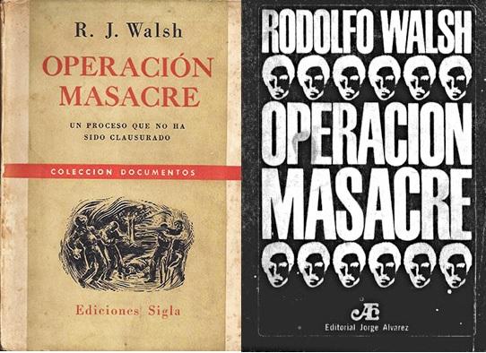 operacion masacre portadas