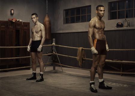 ERWIN OLAF the boxing school