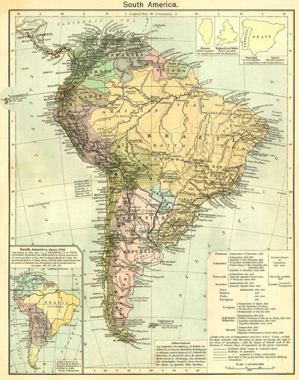 america-mapa