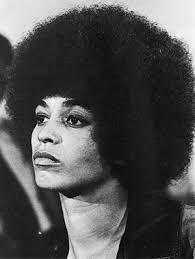 Angela davis young blanco negro