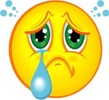 emoticon lágrima