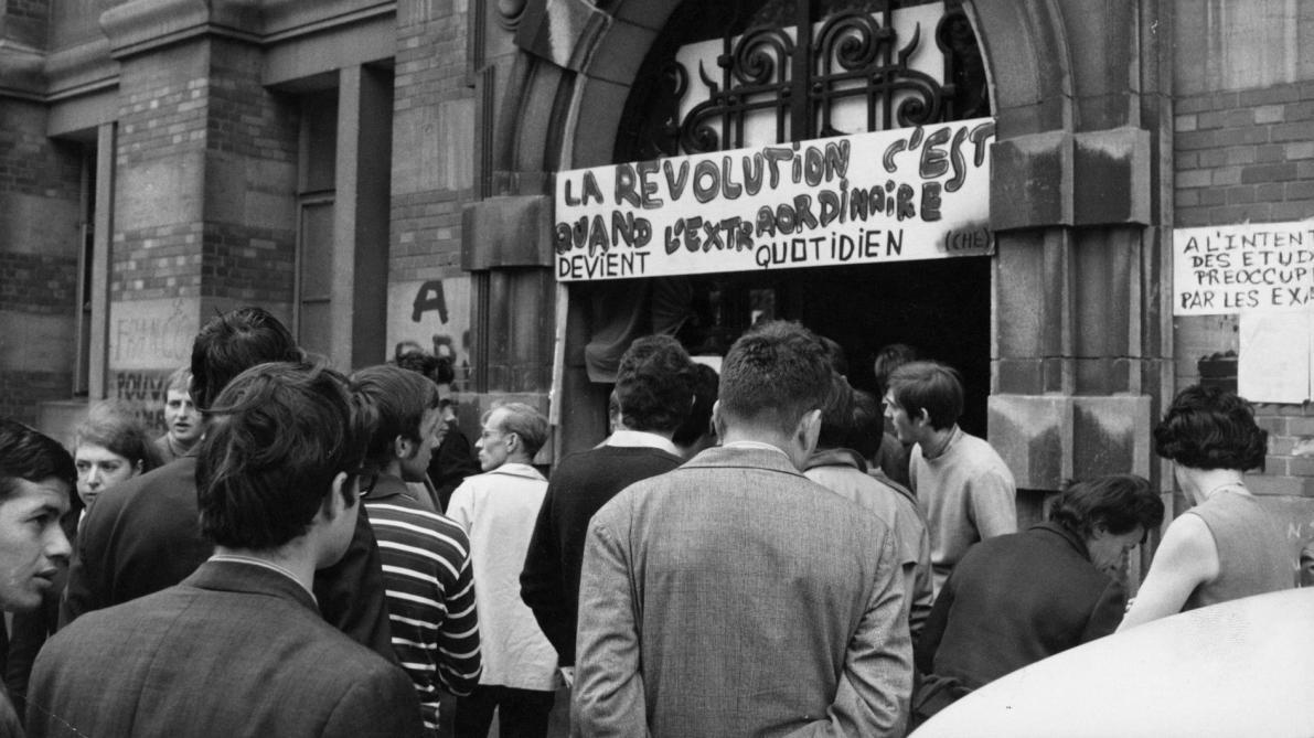 mai 68 porte de la revolution