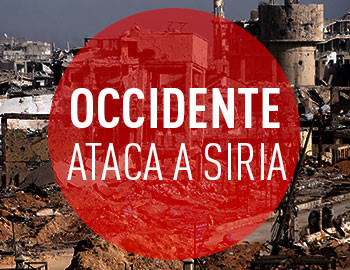 occidente ataca siria
