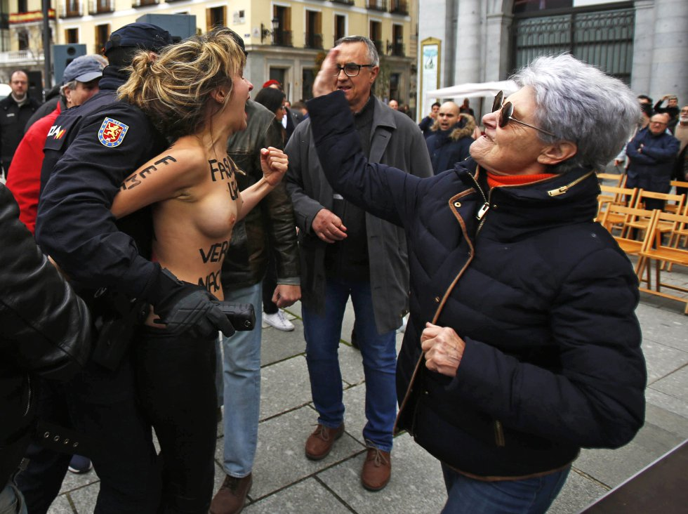 Femen 3 Alvaro García